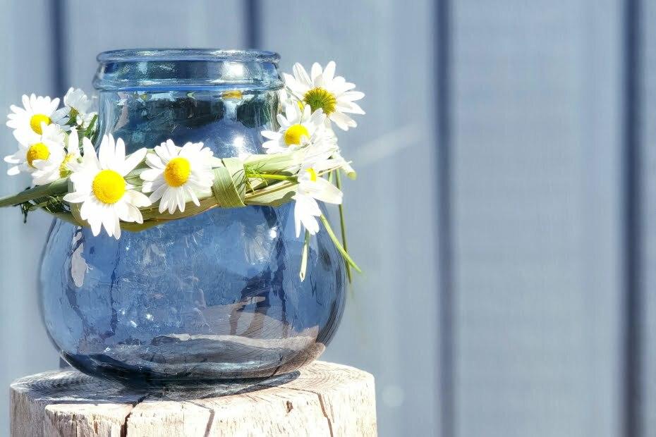 Blumenkranz basteln