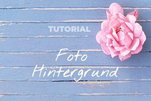 Fotohintergrund DIY klein